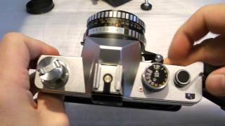 praktica super tl3 carl zeiss jena tessar 2 8 50 review