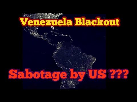 Venezuela Blackout: Maduro blames US for power outage