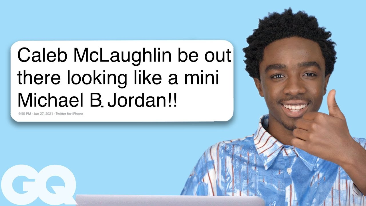 Stranger Things' Caleb McLaughlin Goes Undercover on Reddit, Twitter and  YouTube | GQ