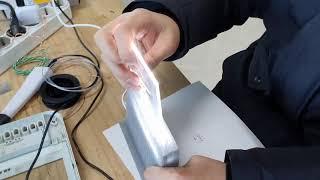 레이저커팅, 3D프린팅을 이용해서 LED 조명을 만들어…