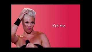 P!nk My Signature Move Lyrics