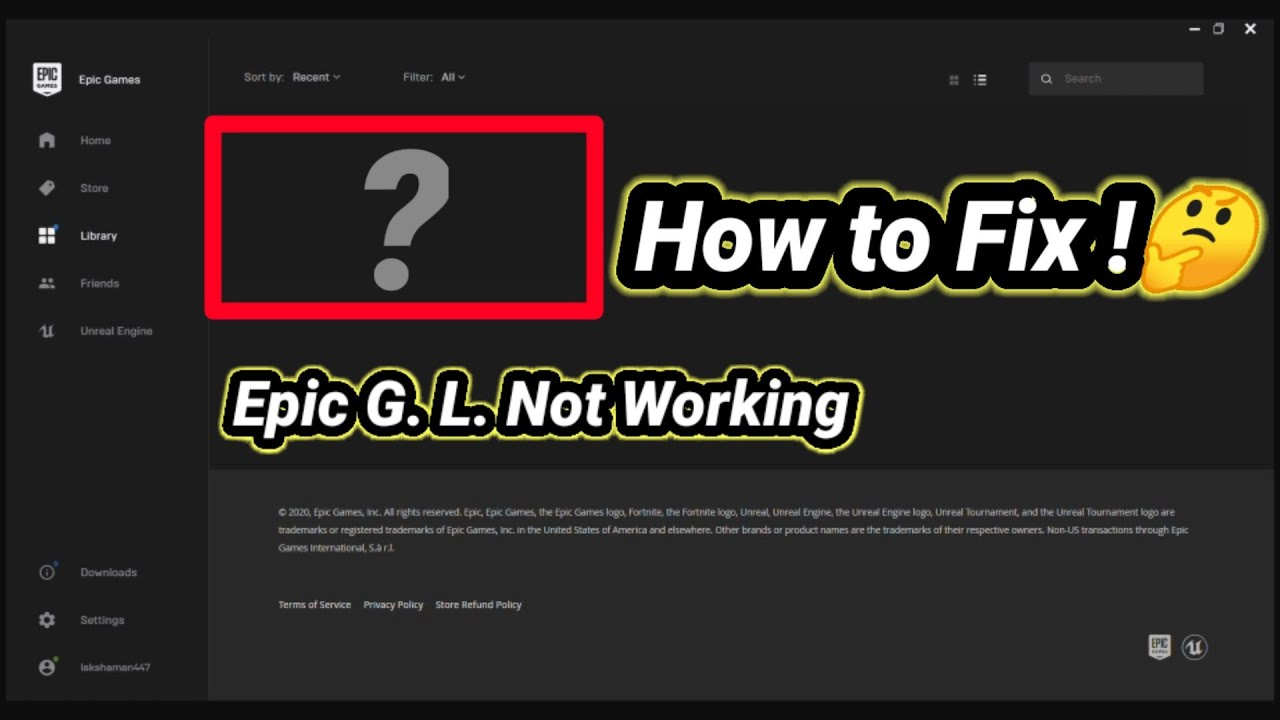 100 % With Proof 🤩 | How to Fix Epic Games Launcher Not ...