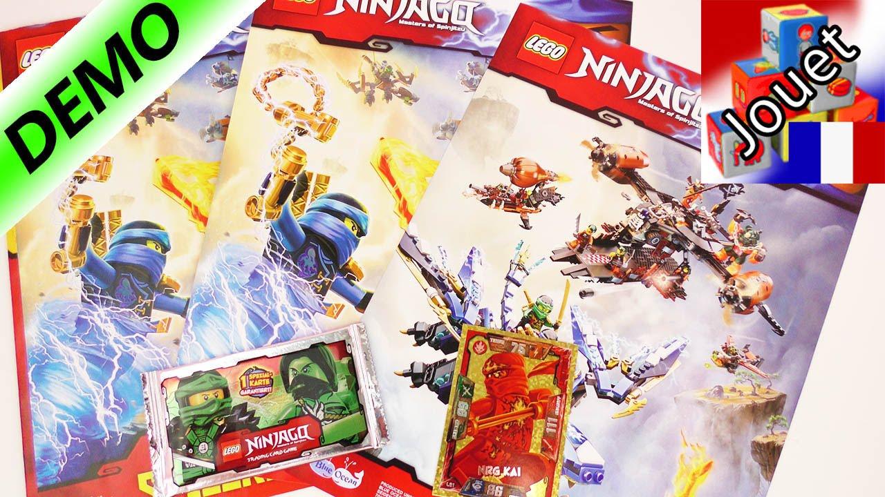 Lego ninjago collection de cartes pack de d part fran ais - Carte ninjago ...