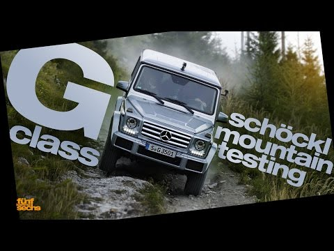 Mercedes G-Class Mountain Testing (English Subtitles)