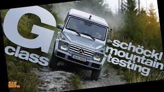 Mercedes G-Class Mountain Testing (English Subtitles)