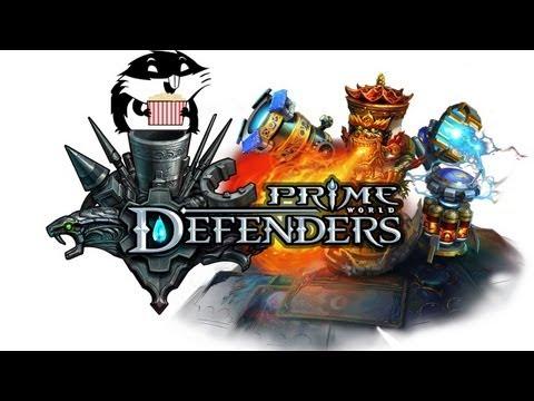 видео: Башня из Прайма. prime world: defenders с Сибирским Леммингом