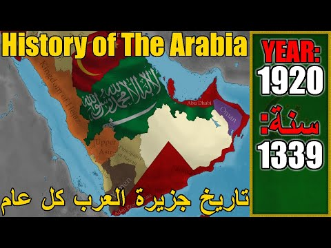 History of the Arabia every year 4000 BC - 2020