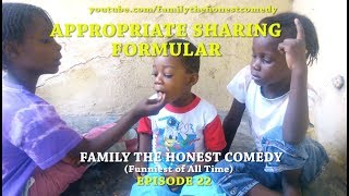APPROPRIATE SHARING FORMULA(Family The Honest Comedy)(Episode 22)
