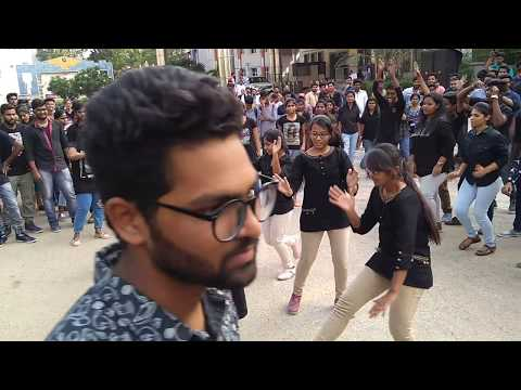 ECTA2K18 | ECE Fest | TKR COLLEGE OF ENGINEERING AND TECHNOLOGY| FLASHMOB |