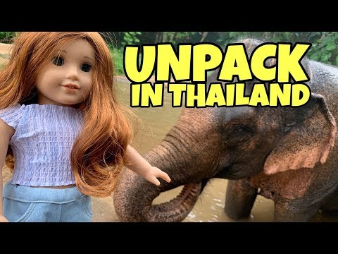 Unpacking American Girl Doll In Thailand - 2019 Girl Of The Year