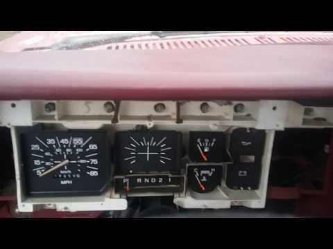 Fixing Dash Lights In 1980 Ford F150