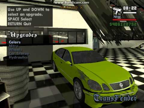 Обзор игры Grand Theft Auto. San Andreas - Winter Edition