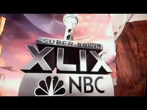 NBC Sports NFL 2014 Copyright Presentation intro and Super Bowl XLIX