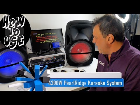 Karaoke System | Professional Karaoke System | Home Karaoke | How To Use