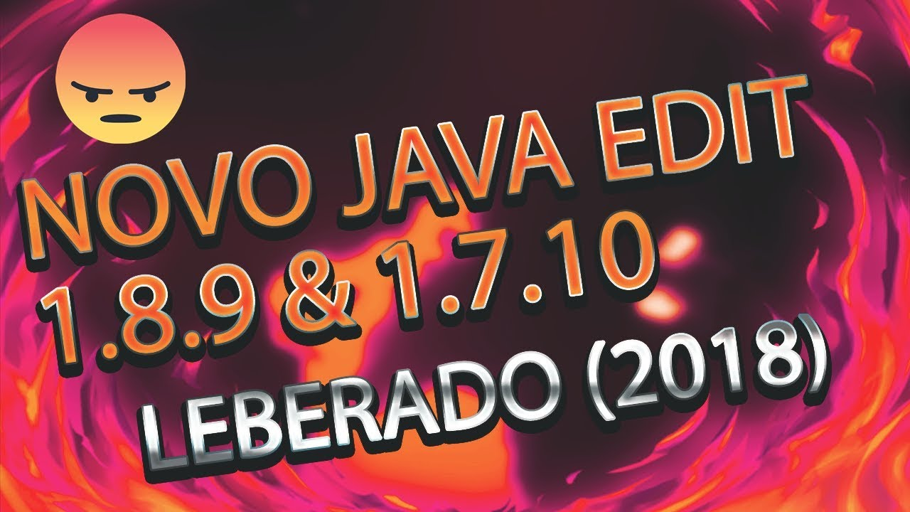 ⚠️NOVO JAVA EDIT 1.8.9 \u0026 1.7.10 REACH 3.3 \u0026 3.4 (indetectável