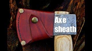 Lederverarbeitung - Axt-Scheide