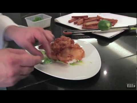 Recette - Le fish and chips d'Alain Ducasse - ELLE Cuisine