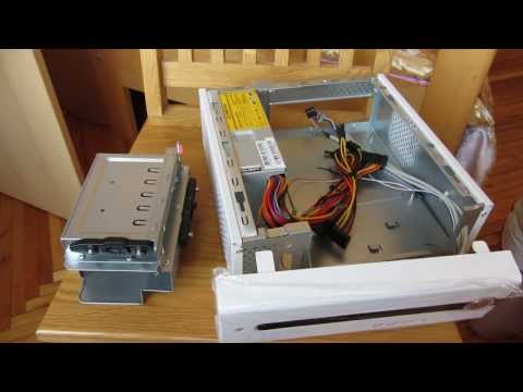 видео: Корпус chieftec fl-01w формата mini-itx.