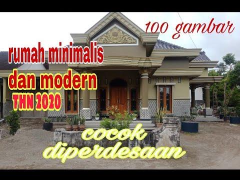 100 desain rumah minimalis sederhana tapi modern //2020