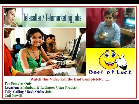 Jobs for Back office Tele caller Above 150 jobs for Females Telecaller