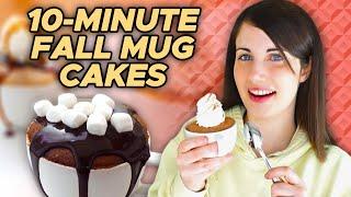 10-Minute Fall Mug Caĸes feat. @Emma's Goodies | Pop Kitchen