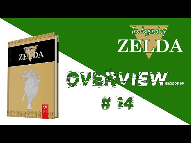 Overview / Aperçu # 014 Guide Deluxe The Legend Of Zelda (L'Ecureuil Noir)