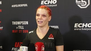 UFC Liverpool: Gillian Robertson Felt Ref Stopped Molly McCann Fight Late - MMA Fighting