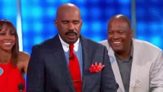 Bill Engvall vs Keke Palmer l Celebrity Family Feud Episode 5 ( 2015 )