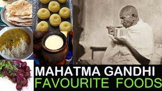 Mahatma Gandhi - FAVOURITE FOODS