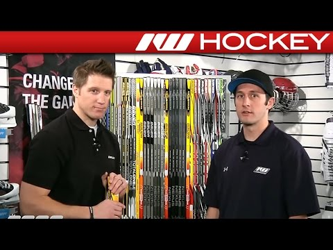 Bauer Insight - Supreme, Vapor and Nexus Hockey Sticks
