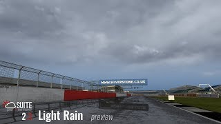 "ASSETTO CORSA ultra realistic weather - gbwSuite 2.3 ""light rain"""