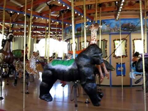 Tom Mankiewicz Conservation Carousel at the Los Angeles Zoo