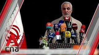 Qasem Soleimani killing an 'extremely dangerous, foolish escalation', says Iranian foreign minister