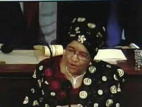 Liberian president Sirleaf speaks to Congress
