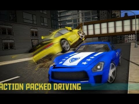 Police Car Driving Game: Theft in Crime City Game Play HD