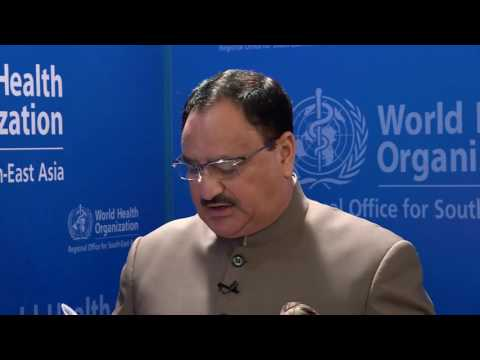 Interview with J.P.Nadda, Union Minister of Health and Family Welfare, India
