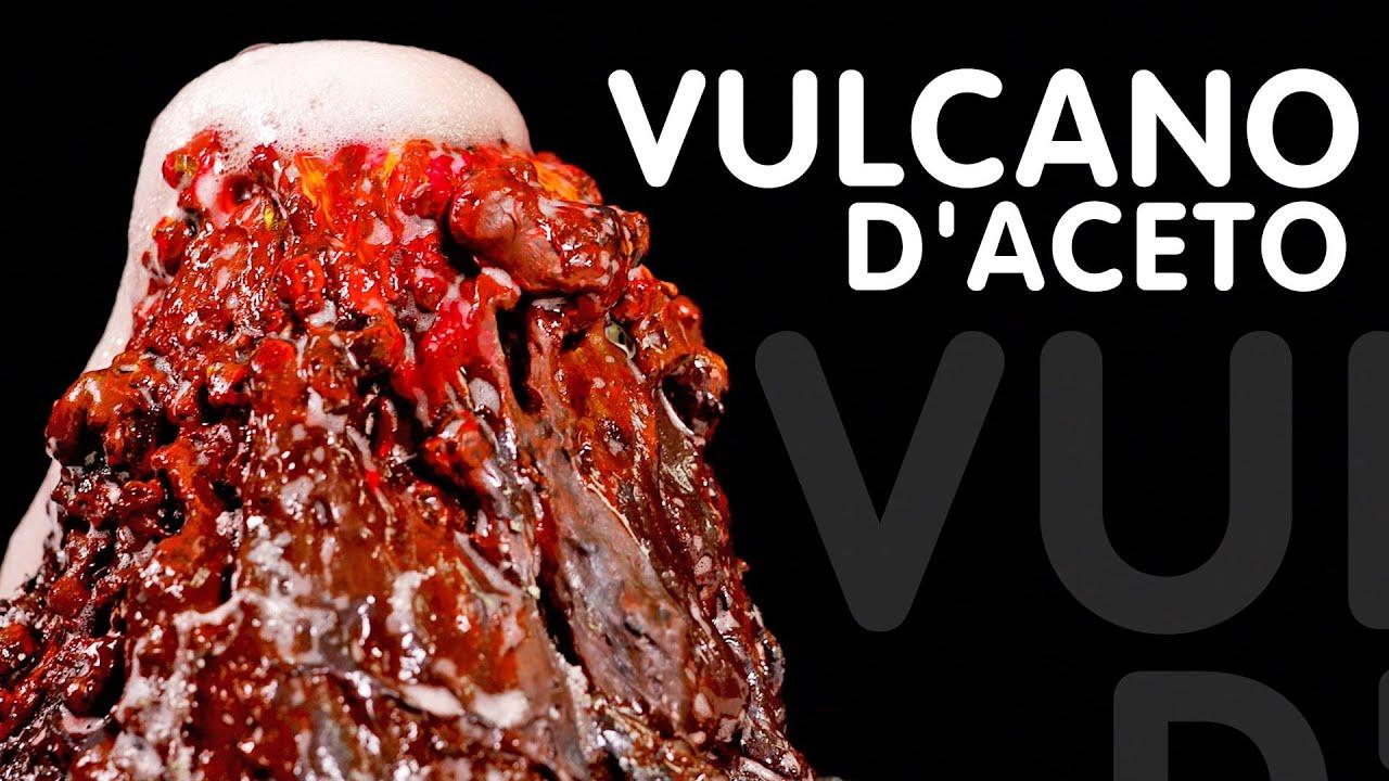 Un vulcano di aceto - esperimenti da fare in casa - ScienzaMania