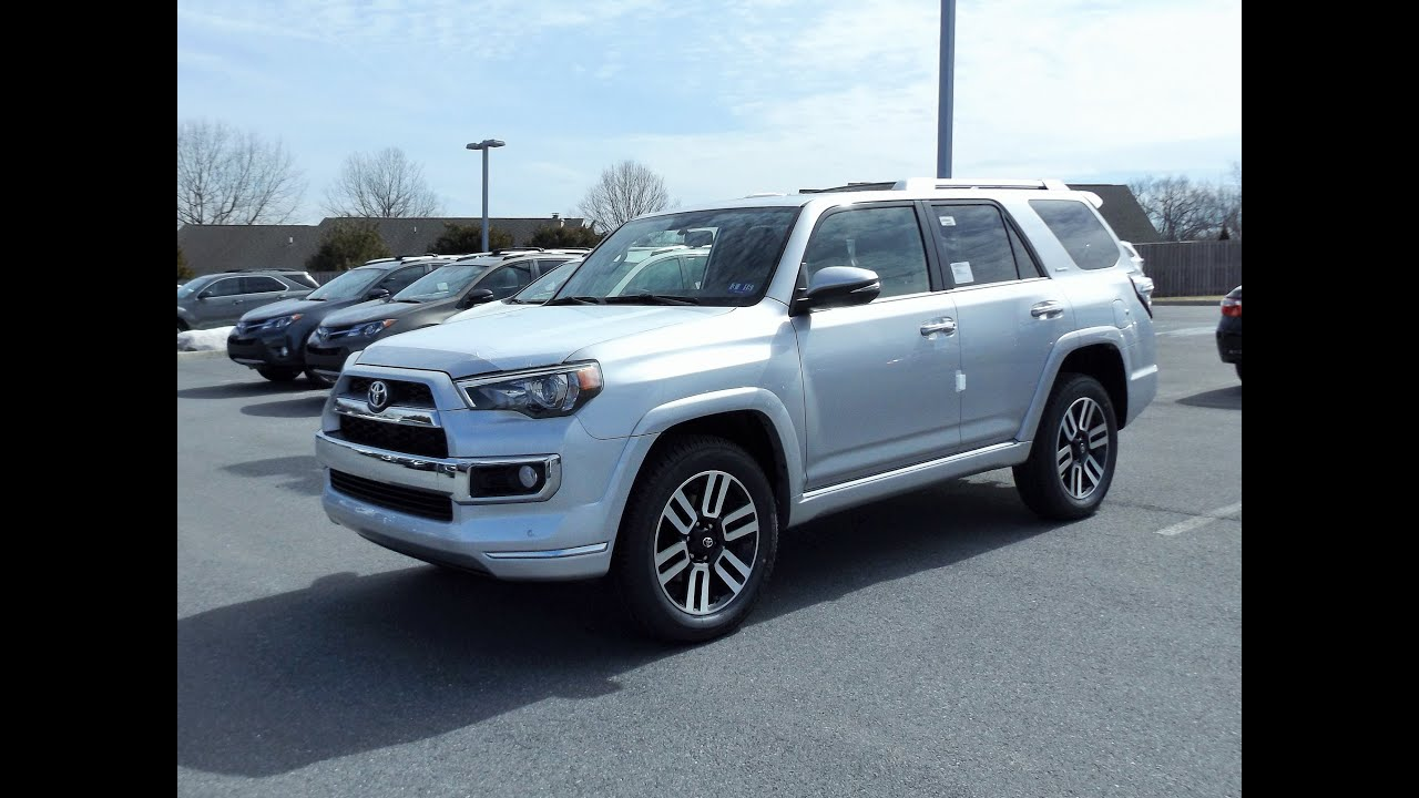 Good 2015 Toyota 4Runner Limited 4X4 Start Up, Tour And Review   YouTube