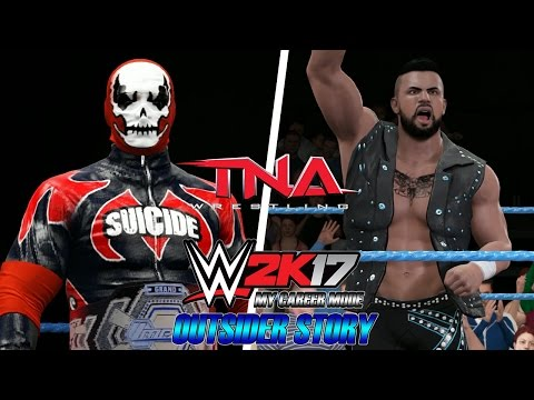 WWE 2K17 - My Career Mode - #95.2 [BEM VINDOS A IMPACT ZONE | OUTSIDER STORY]