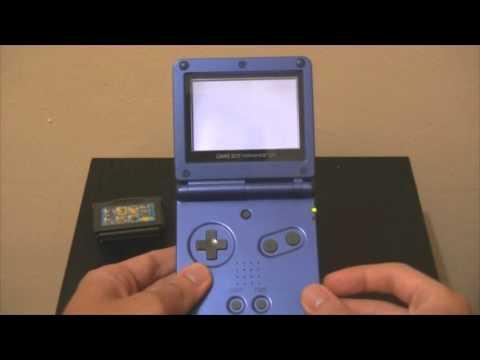 Retro Unboxing & Review : Nintendo Gameboy Advance SP