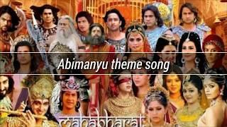 Lagu Mahabarata | Lagu Abimanyu | Lagu Mahabarata Abimanyu | Abimanyu theme song