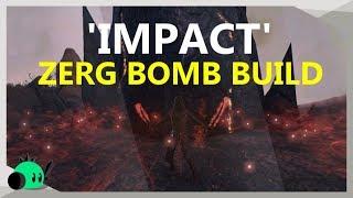 'تأثير' الزرج قنبلة بناء   مسح Zergs في ثانية واحدة
