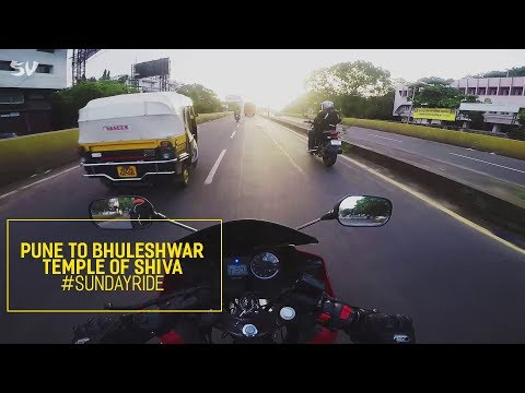 Sunday Ride ➳ Pune to Bhuleshwar Temple of Shiva!