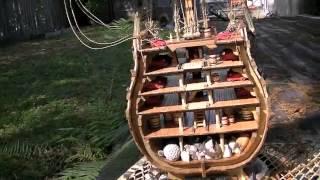 "Building The ""secciÓn Santisima Trinidad"" Wooden Model Kit By Occre Of Spain"