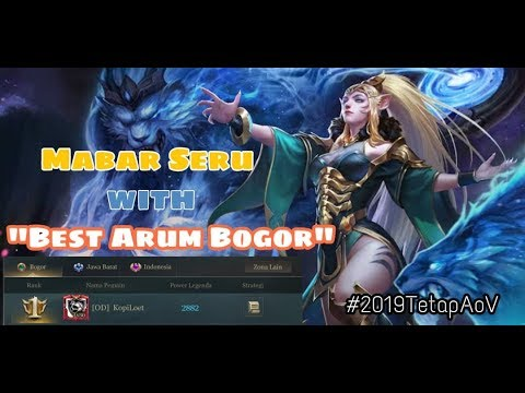 AOV | Arum Build dan Game Play Best Observer Ngeproxy Dapat Objective