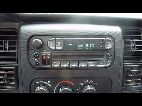 Dodge Dakota Radio Replacement - YouTube