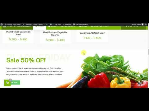 WordPress demo store all rights reserved