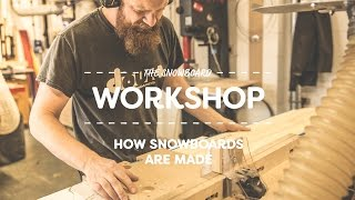 See How To Make A Snowboard | Whitelines Snowboarding