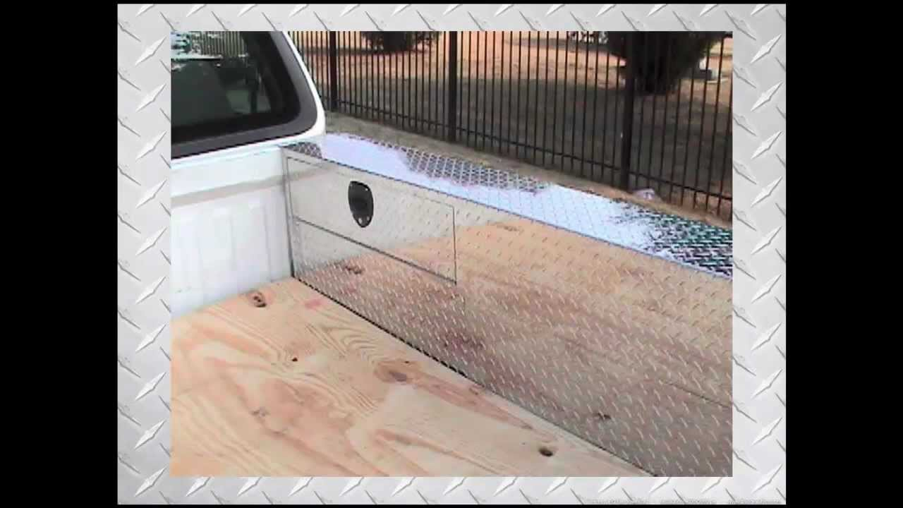 The Pc Series Pork Chop Box Truck Toolbox Storage Over Wheel