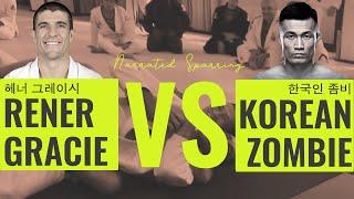 Video Rener Gracie vs Korean Zombie (Gracie University Narrated Sparring) download MP3, 3GP, MP4, WEBM, AVI, FLV September 2018
